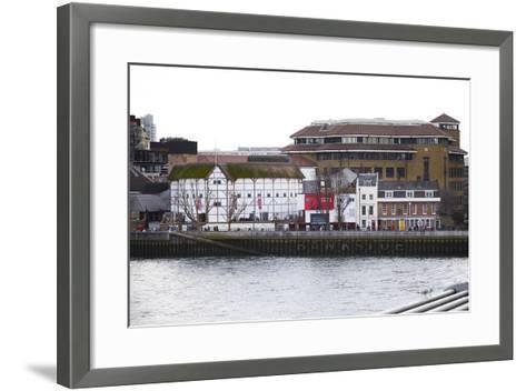 Globe Theatre on Bankside, London, England, United Kingdom, Europe-Mark-Framed Art Print