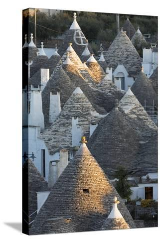 Rooftops of Traditional Trullos (Trulli) in Alberobello-Martin-Stretched Canvas Print