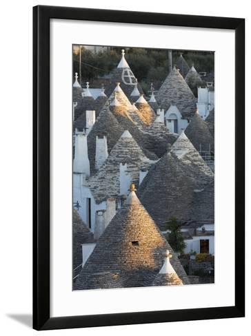 Rooftops of Traditional Trullos (Trulli) in Alberobello-Martin-Framed Art Print