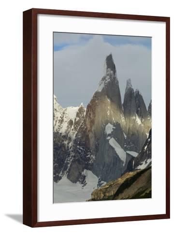 Cerro Torre-Tony Waltham-Framed Art Print