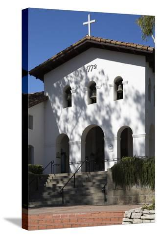 Old Mission San Luis Obispo De Tolosa-Stuart-Stretched Canvas Print