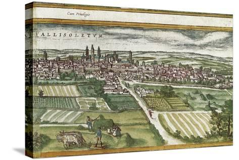 View of Valladolid-Abraham Ortelius-Stretched Canvas Print
