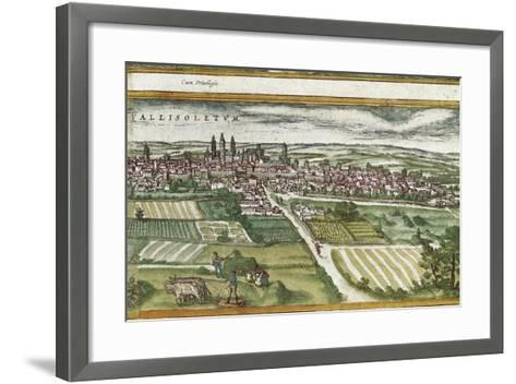 View of Valladolid-Abraham Ortelius-Framed Art Print