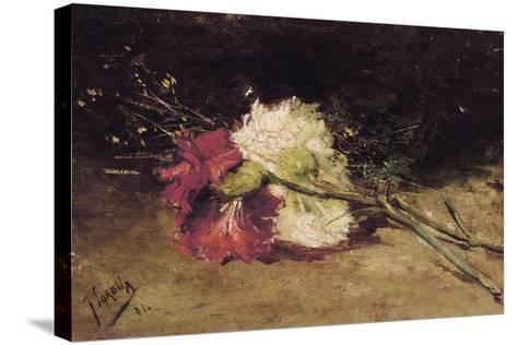 Carnations-Joaqu?n Sorolla y Bastida-Stretched Canvas Print