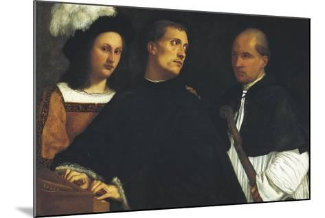 Interrupted Concert-Titian (Tiziano Vecelli)-Mounted Art Print