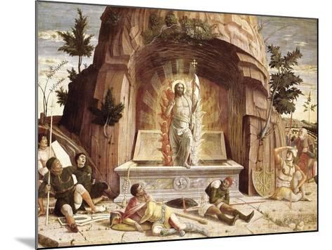 The Resurrection-Andrea Mantegna-Mounted Art Print