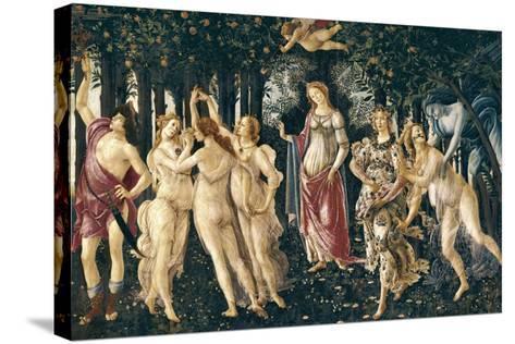 Primavera (Spring)-Sandro Bottocelli-Stretched Canvas Print