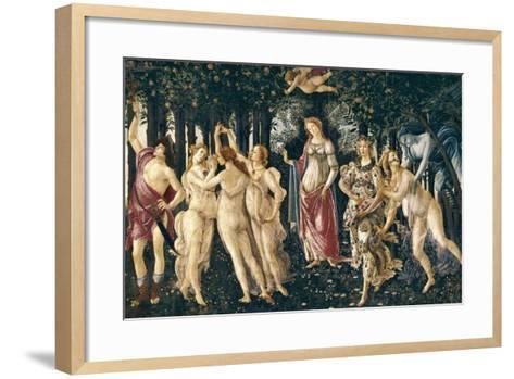 Primavera (Spring)-Sandro Bottocelli-Framed Art Print