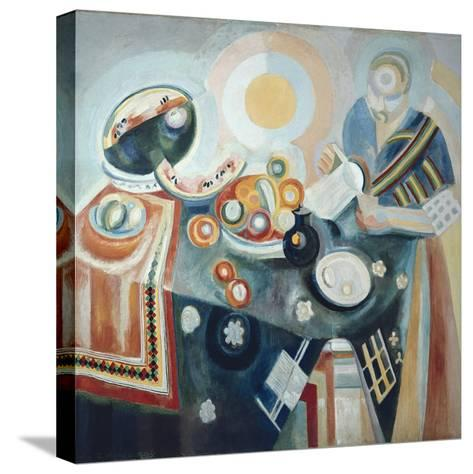 La Verseuse-Robert Delaunay-Stretched Canvas Print