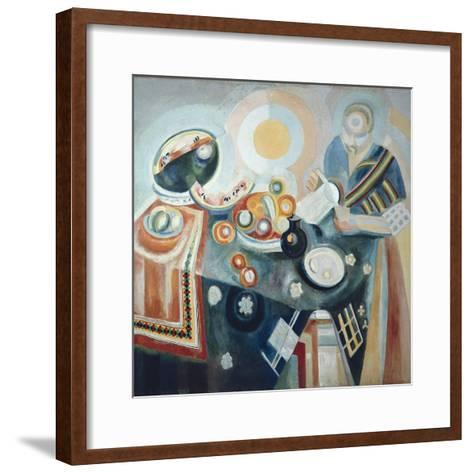 La Verseuse-Robert Delaunay-Framed Art Print