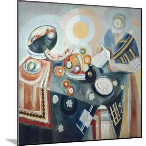 La Verseuse-Robert Delaunay-Mounted Art Print