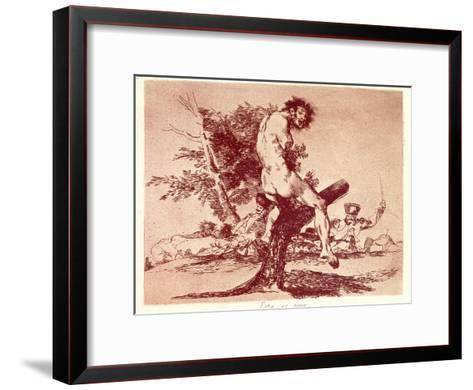 The Disasters of War-Suzanne Valadon-Framed Art Print