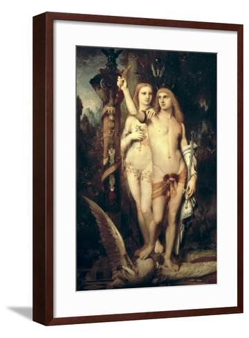 Jason and Medea-Gustave Moreau-Framed Art Print