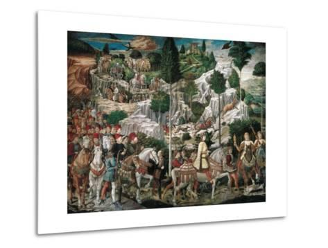 Procession of the Youngest King-Gozzoli Benozzo-Metal Print