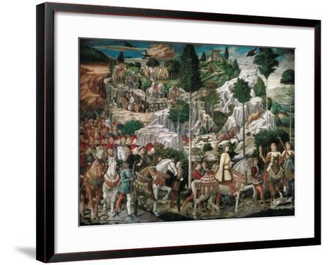 Procession of the Youngest King-Gozzoli Benozzo-Framed Art Print