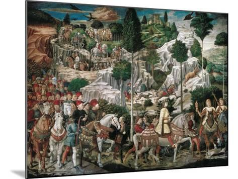 Procession of the Youngest King-Gozzoli Benozzo-Mounted Art Print
