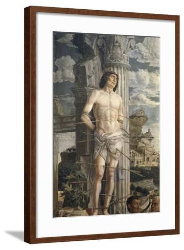 Saint Sebastian-Andrea Mantegna-Framed Art Print