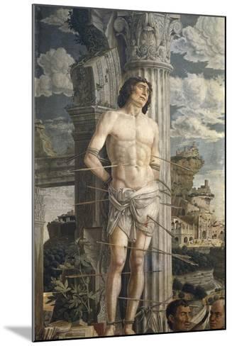 Saint Sebastian-Andrea Mantegna-Mounted Art Print
