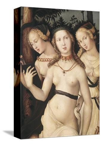 The Harmony Or, the Three Graces-Hans Baldung Grien-Stretched Canvas Print