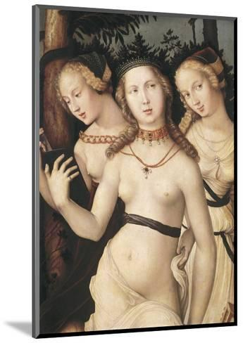 The Harmony Or, the Three Graces-Hans Baldung Grien-Mounted Art Print