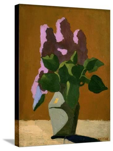 The Lilacs-Edouard Vuillard-Stretched Canvas Print