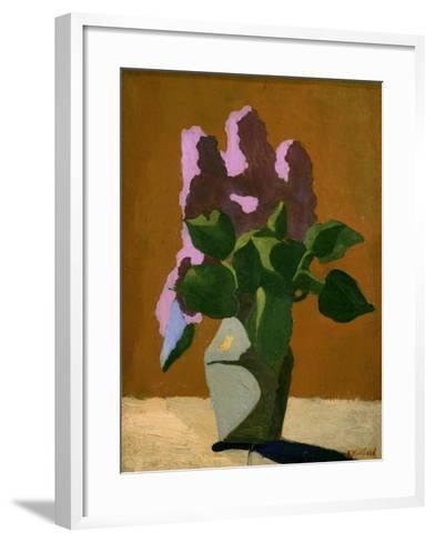 The Lilacs-Edouard Vuillard-Framed Art Print