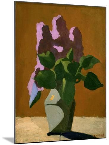 The Lilacs-Edouard Vuillard-Mounted Art Print