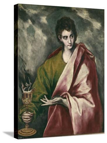 Saint John the Evangelist-El Greco-Stretched Canvas Print