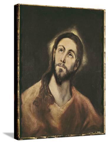 The Saviour-El Greco-Stretched Canvas Print