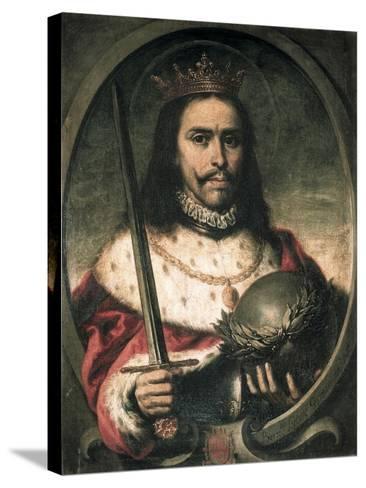 King Ferdinand III of Castile and Leon-Bernardo Lorente German-Stretched Canvas Print