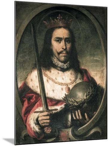 King Ferdinand III of Castile and Leon-Bernardo Lorente German-Mounted Art Print