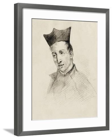 Baltasar Gracian (1601-1658)--Framed Art Print