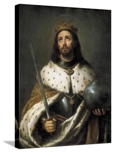 Saint Ferdinand-Bartolome Esteban Murillo-Stretched Canvas Print