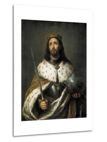 Saint Ferdinand-Bartolome Esteban Murillo-Metal Print