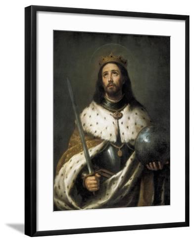 Saint Ferdinand-Bartolome Esteban Murillo-Framed Art Print