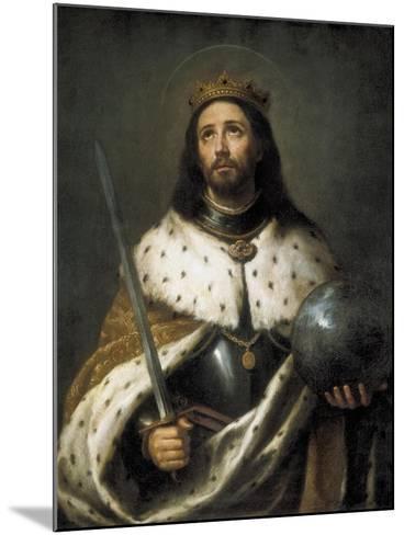 Saint Ferdinand-Bartolome Esteban Murillo-Mounted Art Print