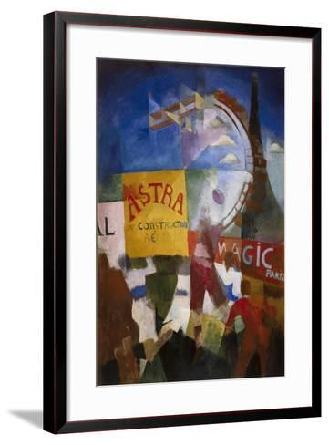 The Cardiff Team-Robert Delaunay-Framed Art Print
