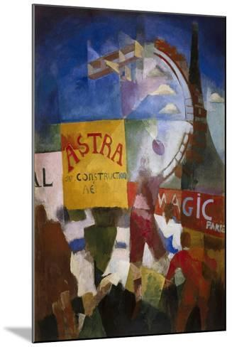The Cardiff Team-Robert Delaunay-Mounted Art Print