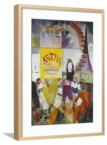 The Cardiff Team-Robert Delaunay-Framed Art Print
