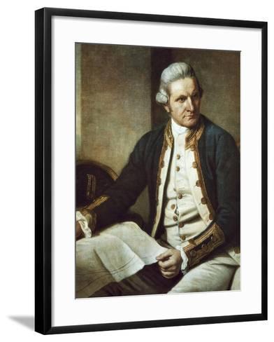 Captain James Cook-Nathaniel Dance-Holland-Framed Art Print