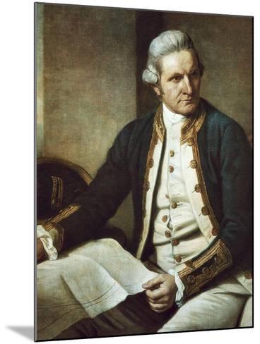 Captain James Cook-Nathaniel Dance-Holland-Mounted Art Print