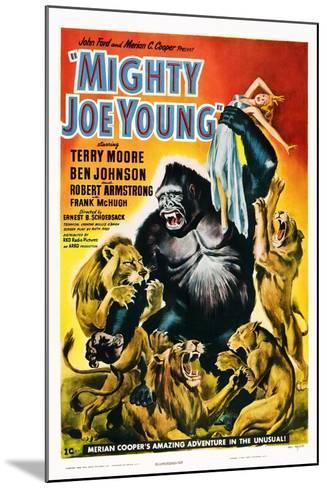 Mighty Joe Young--Mounted Art Print