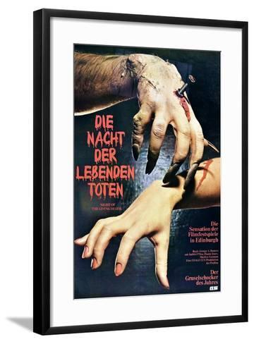 Night of the Living Dead--Framed Art Print