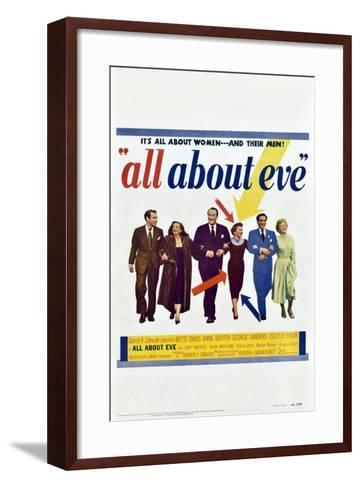 All About Eve--Framed Art Print