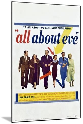 All About Eve--Mounted Art Print