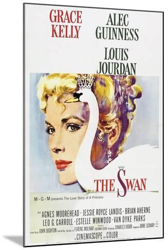 The Swan--Mounted Art Print