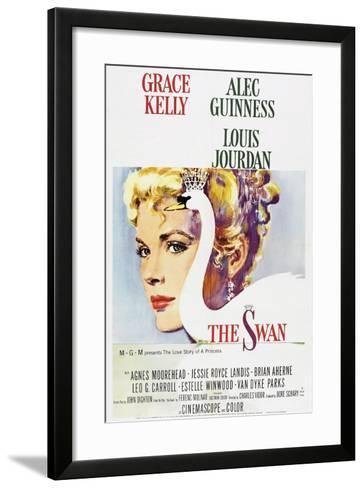 The Swan--Framed Art Print