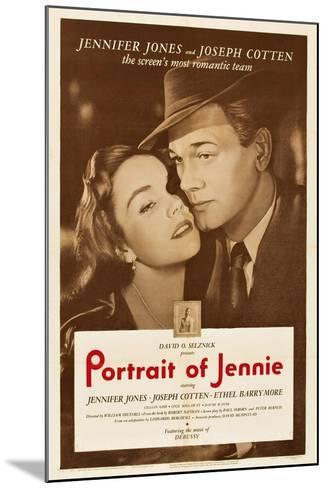 Portrait of Jennie--Mounted Art Print
