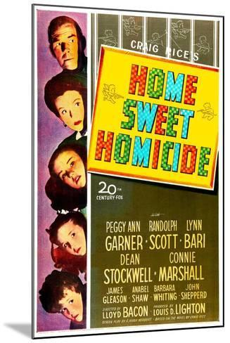 Home Sweet Homicide--Mounted Art Print
