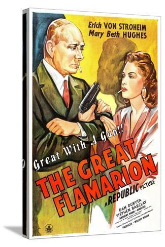 The Great Flamarion--Stretched Canvas Print